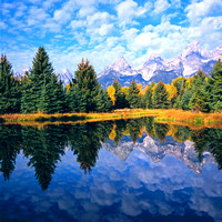 Grand Teton Reflections