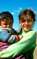Local Children in Eastern Turkey