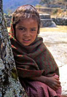 Nepali Girl in Birethanti